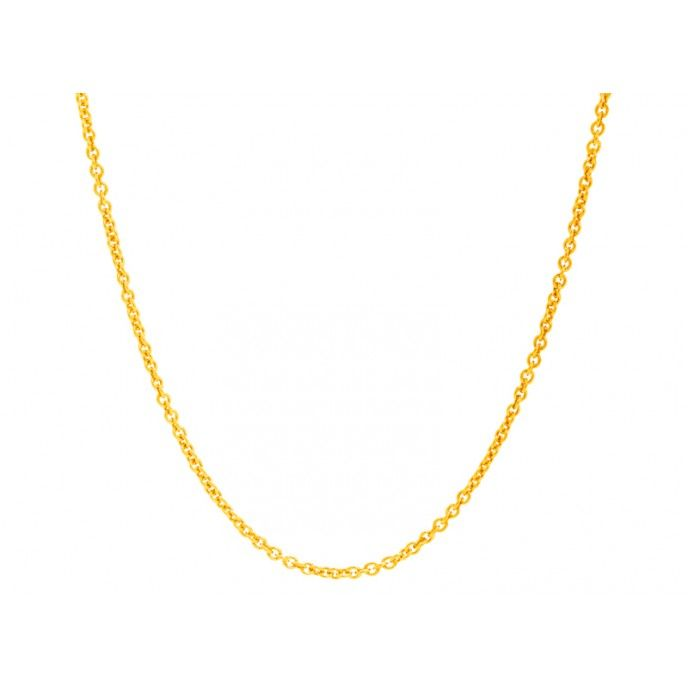 ROLL CHAIN NECKLACE