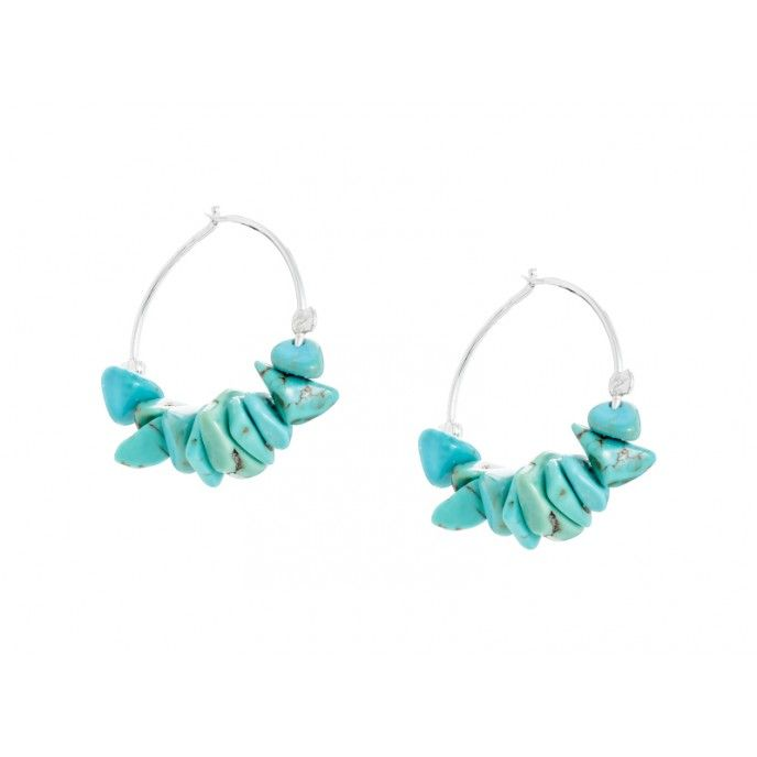 STONE CHIPS HOOPS