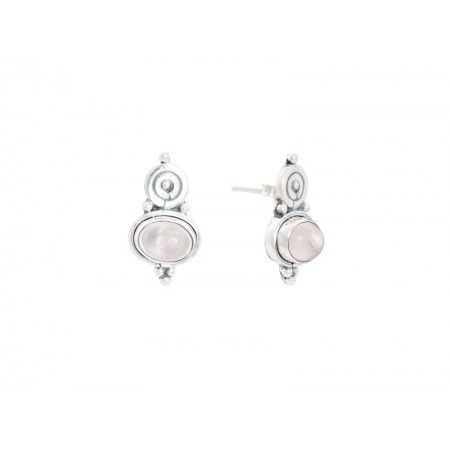 EARRINGS STONE ESPI STONE UNCRIMINATED