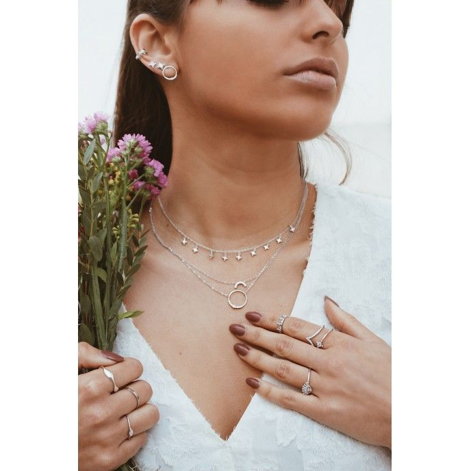 CHOKER WITH LIGHT POINTS