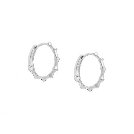 POINTED MINI HOOPS