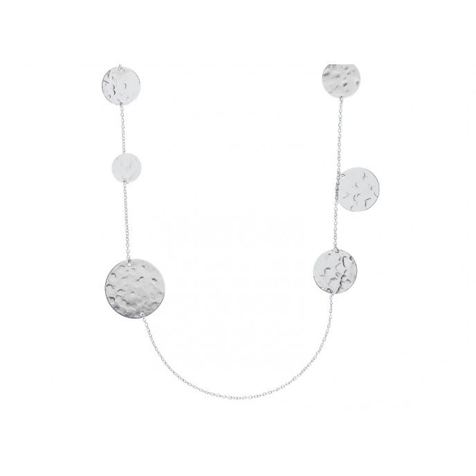 HAMMERED MEDALS NECLACE