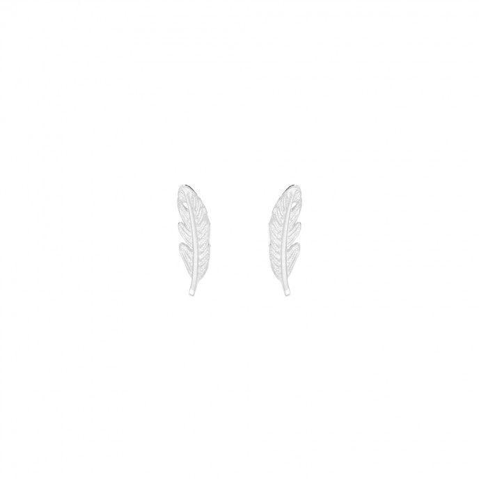 EARRINGS SHEET 4 * 14MM SILVER SPIKE