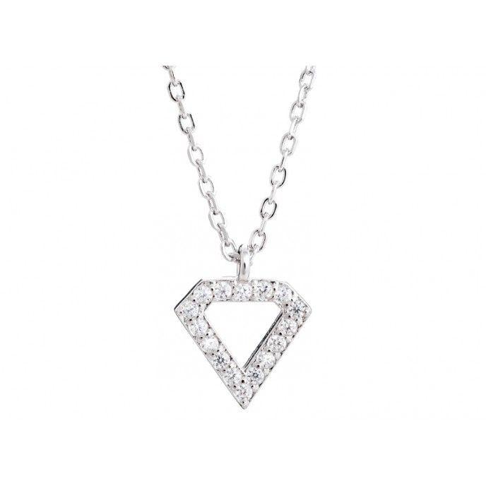 DIAMOND NECKLACE ABERT9MM MINI CZ
