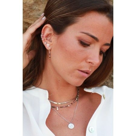 RING 8MM * 2MM 6 STONES 2MM OR 3 Beads 3MM