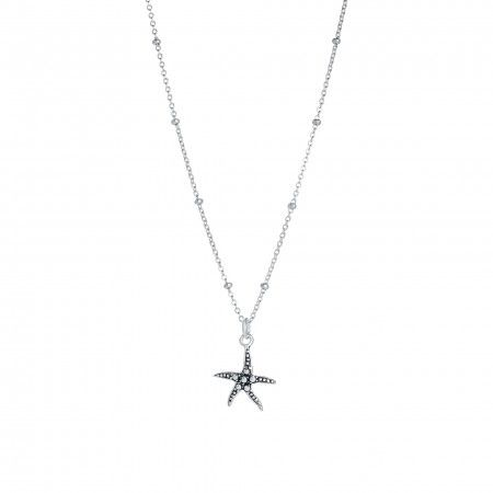 NECKLACE PE STAR OF THE SEA 13MM