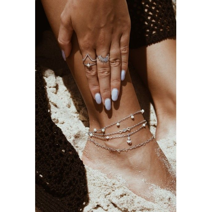 HEARTS CHAIN ANKLET